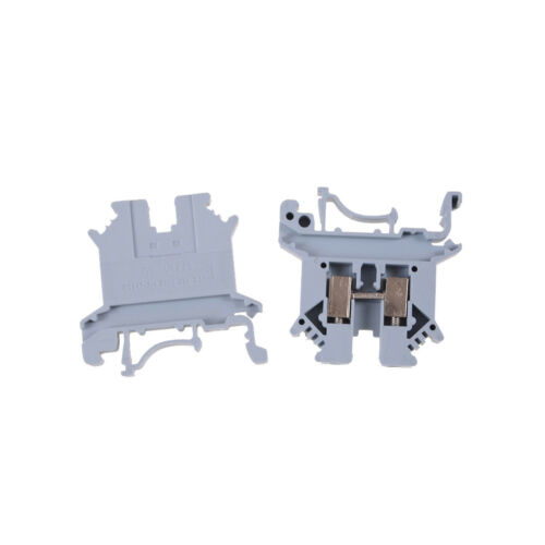 UK-2.5B 800V 32A 2.5mm² DIN Rail Screw Mounting Terminal Connector Block #S