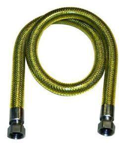 TUBO-FLESSIBILE-ACCIAIO-INOX-PER-GAS-DA-1-MT-A-4-MT-F-F-1-2-034-A-NORMA-CE