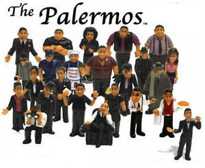 24 RETIRED HOMIES PALERMOS SERIES SET MINI ITALIAN MAFIA ...