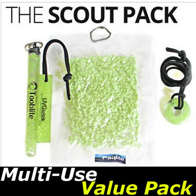 The Scout Pack UVPaqlite Rechargeable Glow Sticks