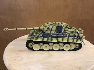 KHS-1-32-FORCES-OF-VALOR-DIE-CAST-TIGER-1-GERMAN-HEAVY-TANK-NO-BOX