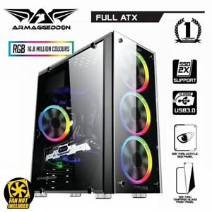 PC-Case-Gaming-Tower-Armaggeddon-Kagami-K-5-Computer-Case-Audio-RGB-Full-ATX