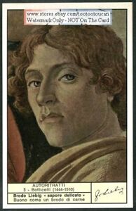 Italian-Painter-Botticelli-Self-Portrait-c40-Y-O-Trade-Ad-Card