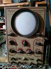 Rare Vintage Heathkit Push Pull Extended Range Oscilloscope Model 0 5