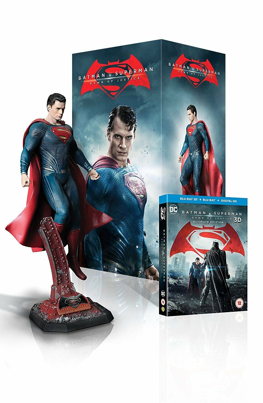 Batman v Superman  Dawn of Justice - Superman Statue Ultimate Ausgabe Box ; New