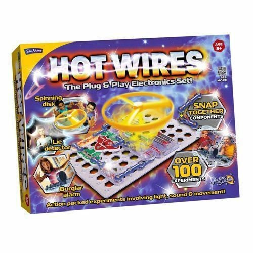 JOHN ADAMS HOT WIRES ELECTRONIC KIT EDUCATIONAL SCIENCE TOY