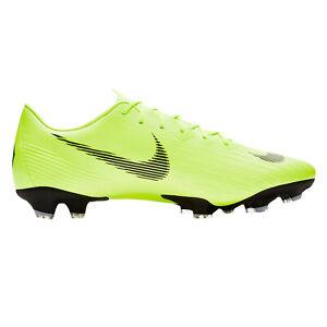 erster Blick beliebte Geschäfte neue Version Details zu Nike Mercurial Vapor XII Pro FG - Herren Fußball Nockenschuhe -  AH7382-701 gelb