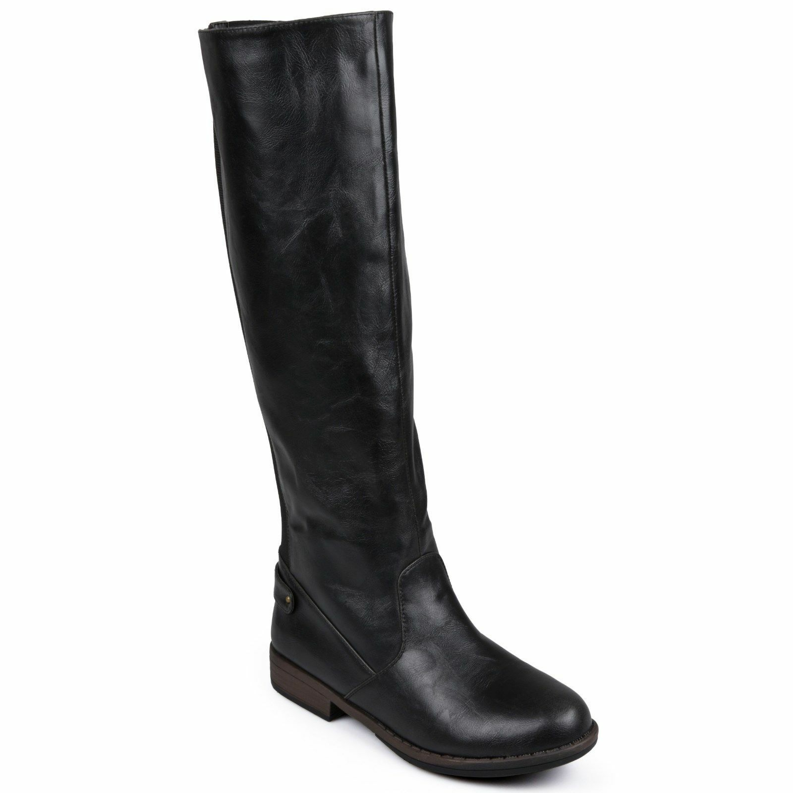 New JOURNEE COLLECTION LYNN BLACK TALL BOOTS 7 M