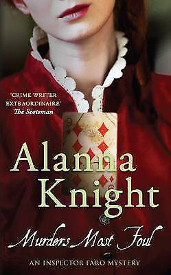 1 of 1 - Knight, Alanna, Murders Most Foul (Inspector Faro), Very Good Book