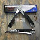 Dark Side Blades Black Grim Reaper Death Straight Razor Pocket Knife DS-016GB