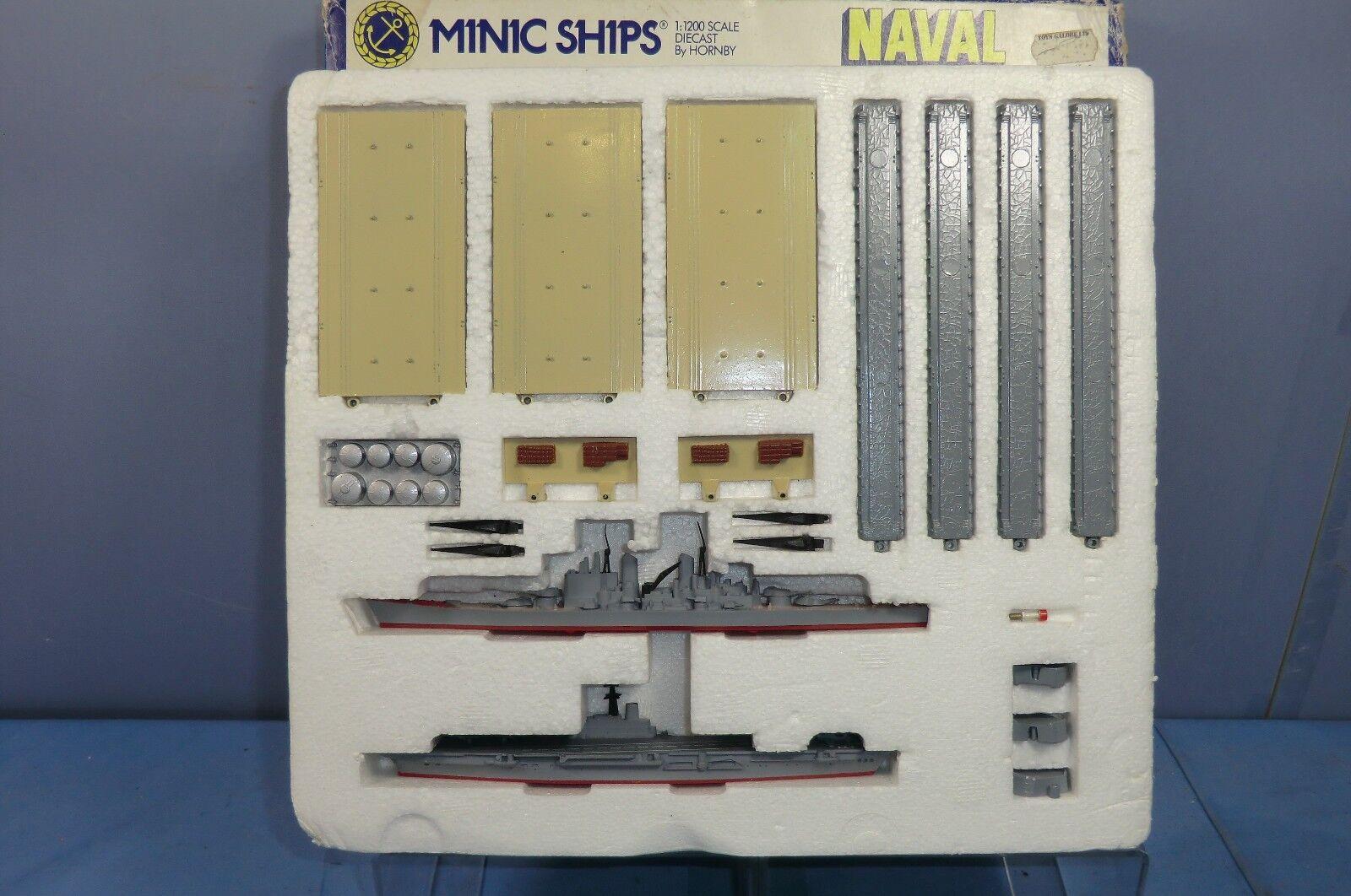 TRI-ANG MINIC NAVE modello No.M906  Marina Militare Harbour Set  VN Nuovo di zecca con scatola