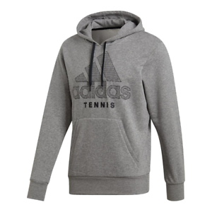 Adidas Tennis Sweat Graphic capuche à GrisDu5337 Mens wTkXuOliPZ