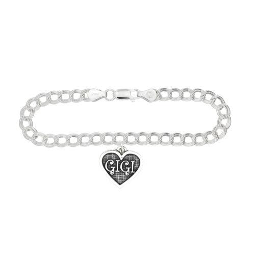 Sterling Silver Gigi Charm Bracelet