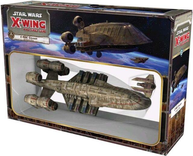 STAR WARS: X-Wing Miniatures Game - C-ROC Cruiser Expansion (Fantasy Flight)