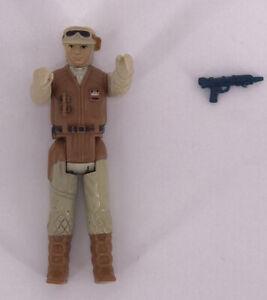 Vintage 1980 Kenner Star Wars Figures Complete Rare ESB  Luke Skywalker Hoth Gun