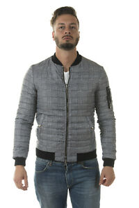Giubbotto Giaccone Daniele Alessandrini Jacket A//I Uomo Nero I80083607 1