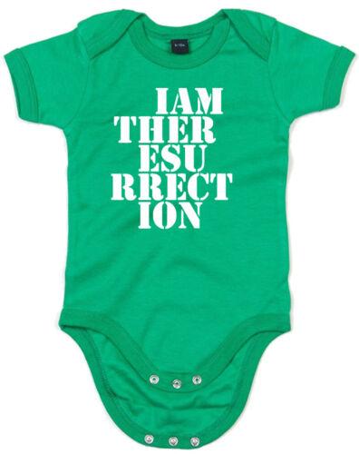 Soy la resurrección The Stone Roses inspirado Kid/'s Estampado Crecimiento De Bebé Mameluco