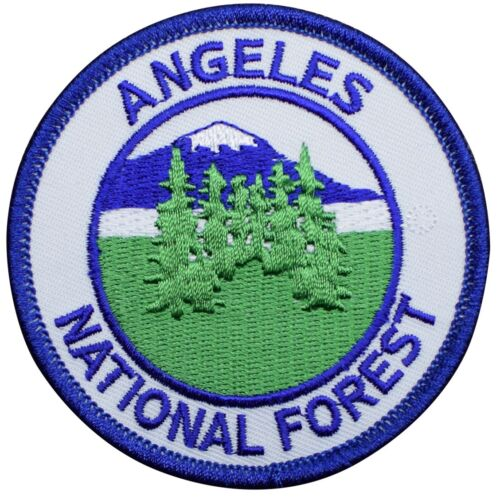 Los Angeles California Hiking Camping Angeles National Forest Patch Iron on