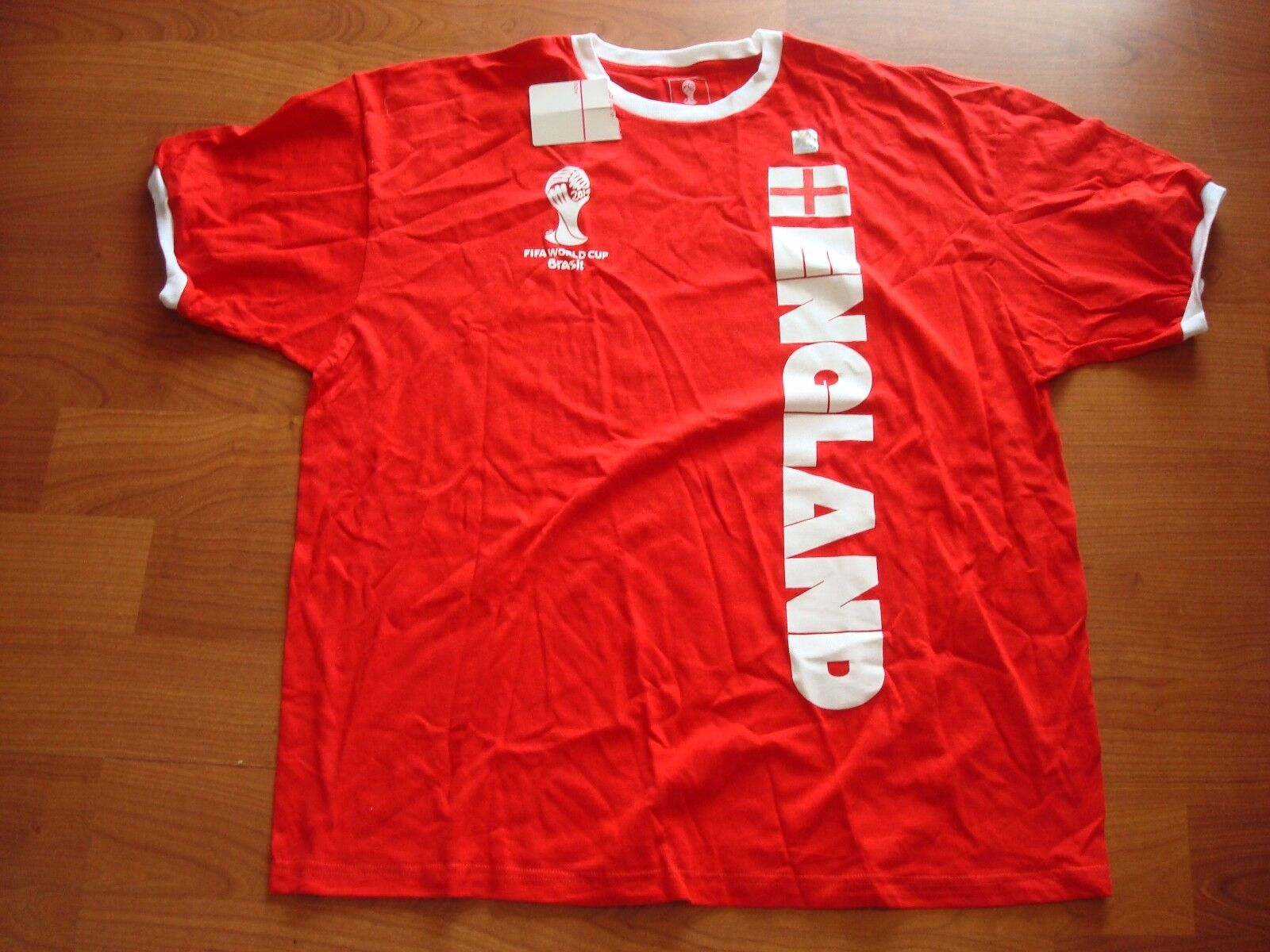 ENGLAND 2014 FIFA WORLD CUP FUTBOL BRASIL SOCCER shirts shirt WHOLESALE LOT 50PC