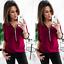Fashion-Womens-Long-Sleeve-Loose-Blouse-Casual-Shirt-Summer-Chiffon-Tops-T-Shirt thumbnail 5