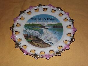 VINTAGE NIAGARA FALLS PROSPECT POINT SOUVENIR  DISH PLATE