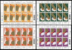 China Hong Kong 1999 Mini S/S New Year of Rabbit stamp Zodiac