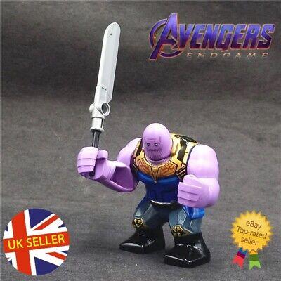 Thanos Double Sword Mini Figure Avengers End Game Marvel Infinity UK Seller