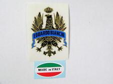 adesivo sticker per bici da corsa bianchi vintage + made italy