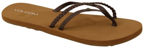 New Brown Volcom Thrills Sandal
