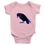 Infant-Baby-Rib-Bodysuit-Jumpsuit-Romper-Clothes-Beautiful-Black-Crow-Raven-Bird thumbnail 15