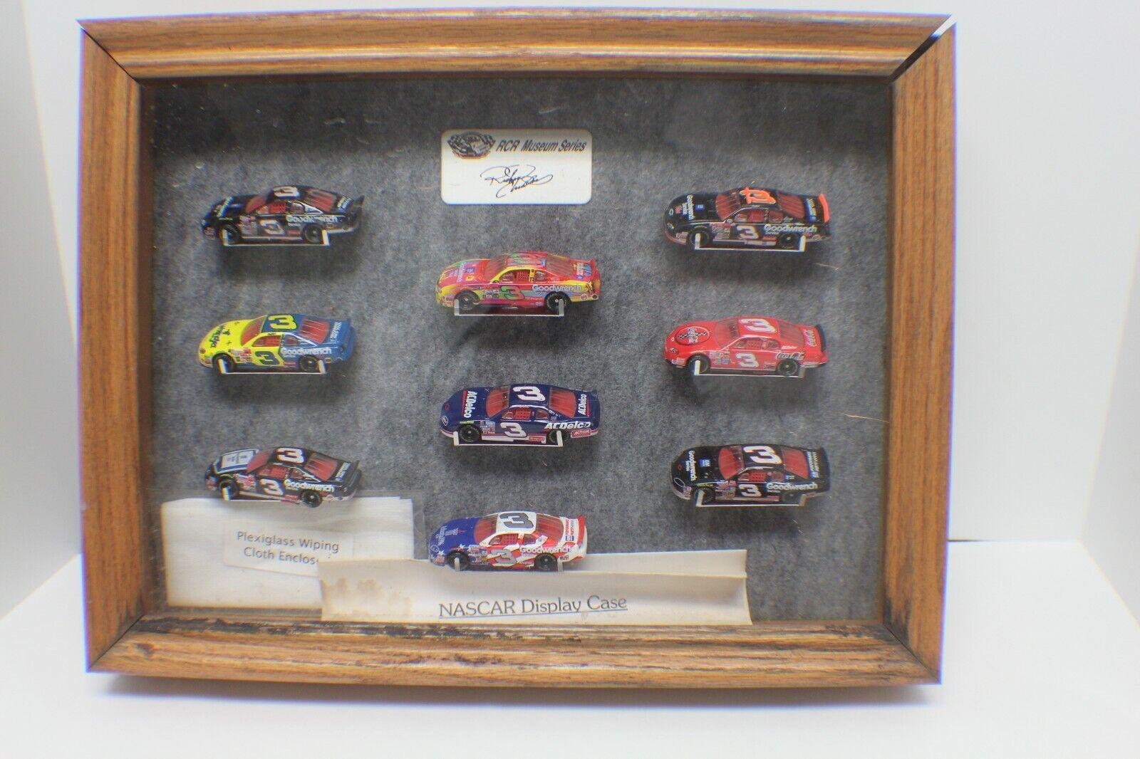 Dale Earnhardt 2004 Action AP Series 1 64 RCR Museum Case Series - 9 Car Set