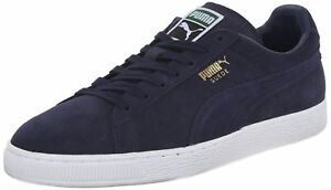 f21a74acfe23 PUMA SUEDE Classic+ Men s Casual Shoes Peacoat White 356568 52 L