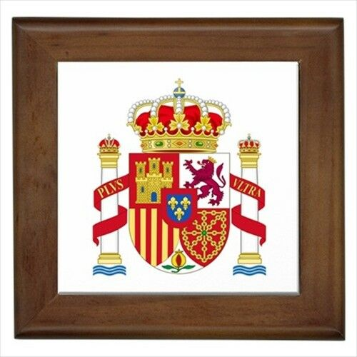 Heraldic Tabard Design Home Decor Spain Coat Of Arms Wall Tile Art