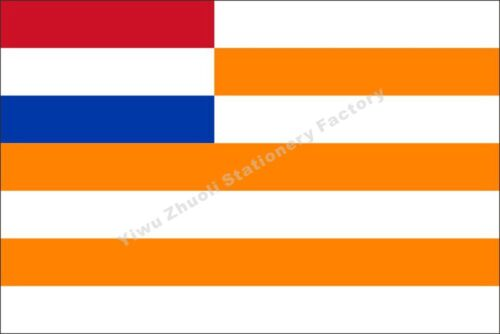 South Africa orange free state flag 3X2FT 5X3FT 6X4FT 8X5FT 10X6FT Polyester