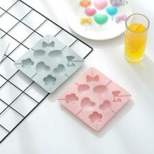 Silicone Lollipop Pop Mold Baking Tray Heart Shape Cake Cookie Chocolate Mould
