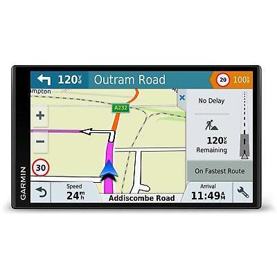 """Garmin DriveSmart 61LMT-D 6"""" Touch Screen Sat Nav System Full Europe Maps"""