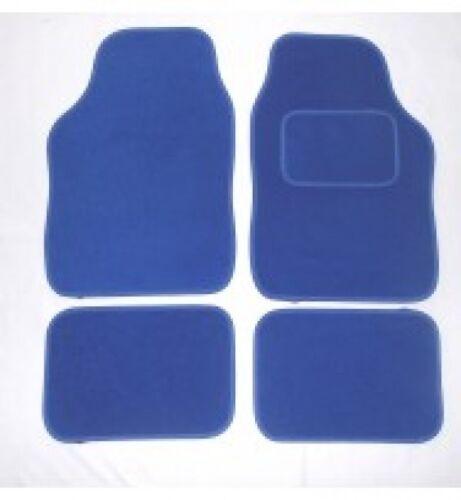 FORD TRANSIT CUSTOM FULL BLUE CARPET CAR FLOOR MAT SET