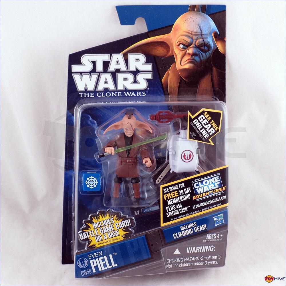 Star - wars - den klonkriegen 2011 sogar cw58 jedi - meister piell animierte action - figur