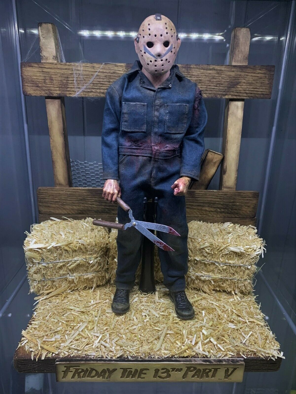 1 6 Friday the 13th Barn Diorama for Sideshow Hot Toys ThreeZero Horror Jason