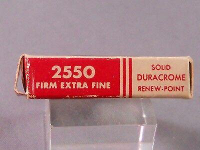 NOS Firm Extra Fine Esterbrook Renew-Point Nib 2550