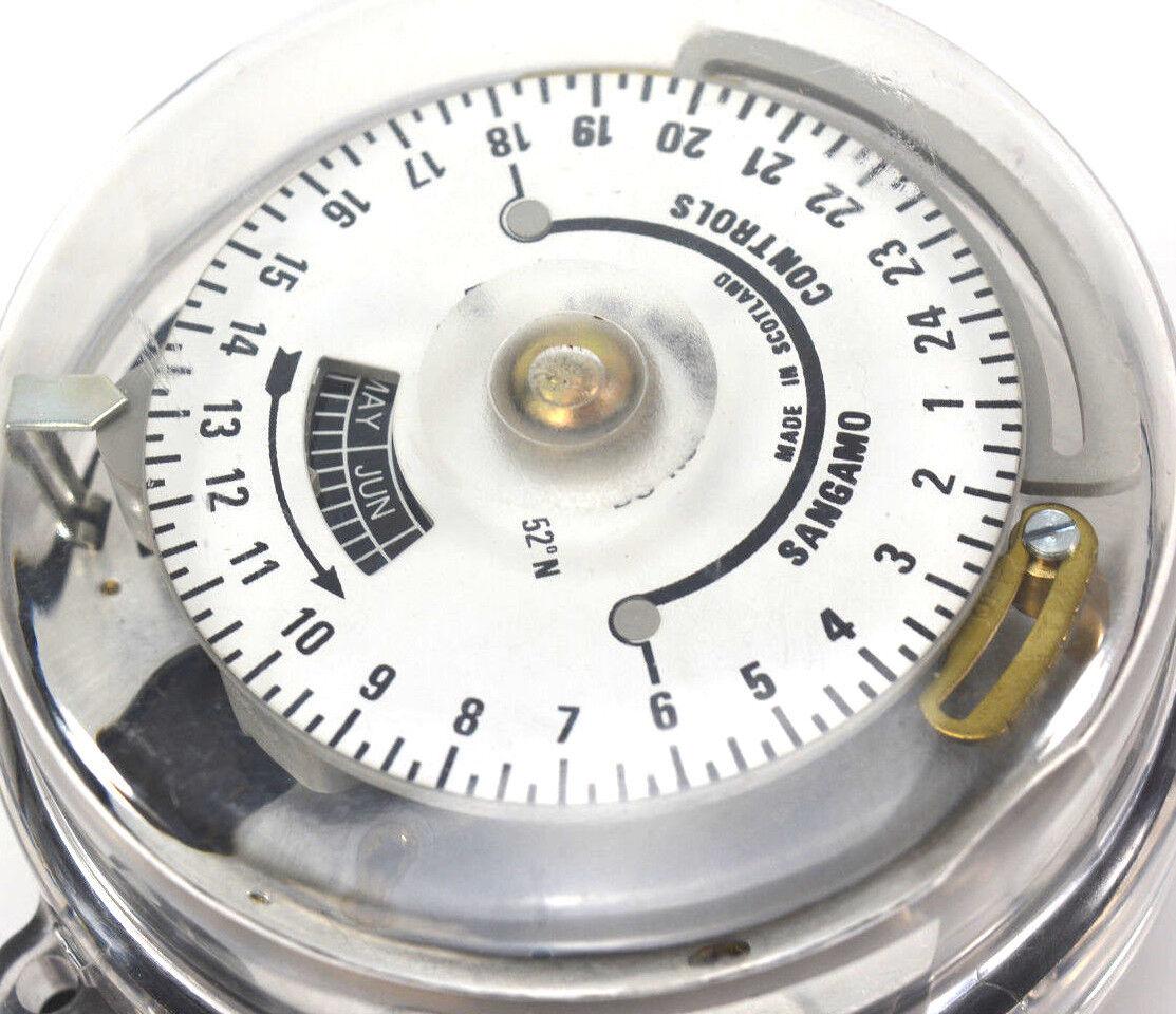 SANGAMO mechanischer Zeitschalter - Schaltuhr - - - Time Switch months ec13ca
