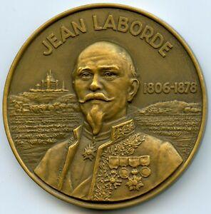 Francia-Mail-Maritimos-Juan-Laborde-Medalla-por-Baron-1953-con-Caja