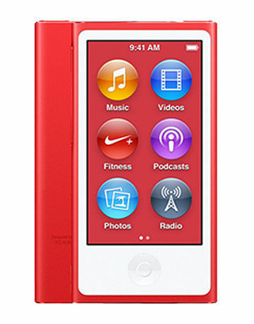 Apple Ipod Nano 7th Generation Red 16 Gb For Sale Online Ebay
