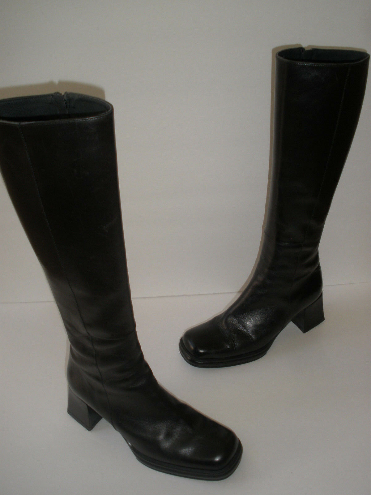 LUCIANA LUCIANA LUCIANA ROMANELLI LEATHER KNEE HI BOOT US 5.5 -6 EUR 36.5 SEXY  MADE IN ITALY 7a9b45
