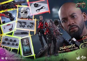 Ready Hot Toys MMS381 Suicide Squad Deadshot Will Smith 1//6 Special
