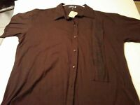 Earthbound Trading Co. Mens Casual Button Up Collared Shirt Size Xl 0779