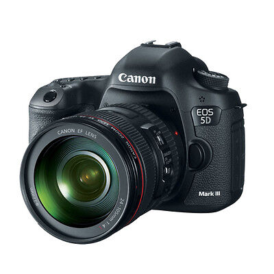 Canon EOS 5D Mark III Full Frame Digital SLR Camera with EF 24-105mm  IS Lens