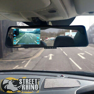 audi a6 rear view mirror g shock hd dash cam 4 3 display. Black Bedroom Furniture Sets. Home Design Ideas
