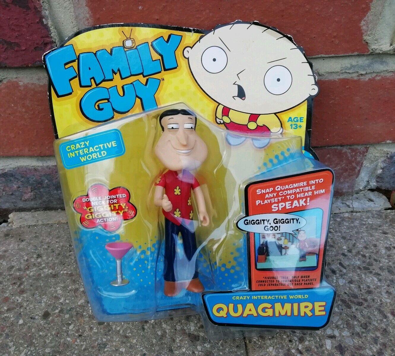 Family Guy-RARE Quagmire INTERACTIVE Figura da Collezione - 2011 Nuovo di zecca