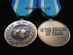 FULL-SIZE-UNITED-NATIONS-SIERRA-LEONE-UN-MEDAL-WITH-RIBBON-UNOMSIL